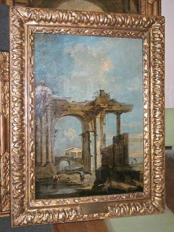 Une Arcade. Paysage vénitien