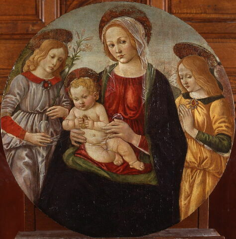 Vierge à l'Enfant et anges
