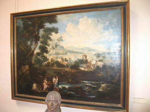 face, recto, avers, avant ; vue d'ensemble © 2004 Musée du Louvre / Peintures
