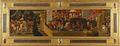 Histoire de Camille (panneau de cassone), dit anciennement Scène de tournoi