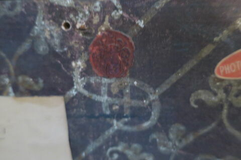 dos, verso, revers, arrière ; détail cachet © 2019 Musée du Louvre / Peintures