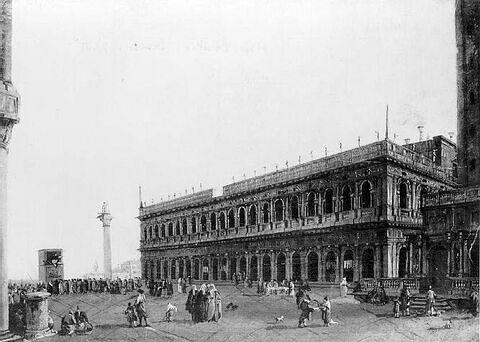 Vue de la Piazzetta à Venise