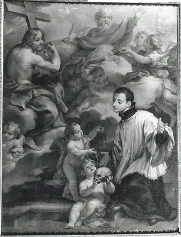 Saint Louis de Gonzague en oraison