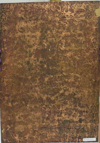 vue d'ensemble ; vue sans cadre ; dos, verso, revers, arrière © 2019 Musée du Louvre / Peintures