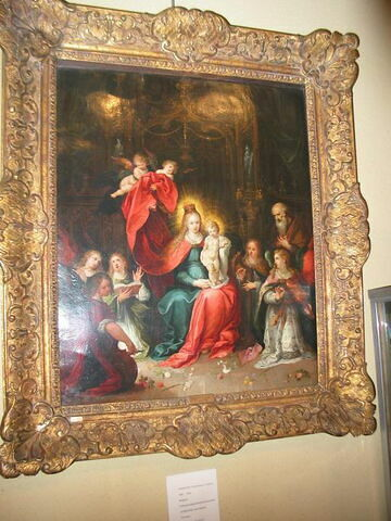 La Vierge et l'Enfant adorés par les anges