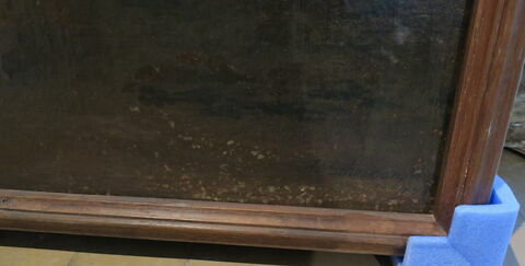face, recto, avers, avant ; détail signature © 2019 Musée du Louvre / Peintures