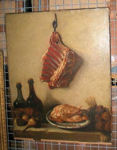 Nature morte avec viande