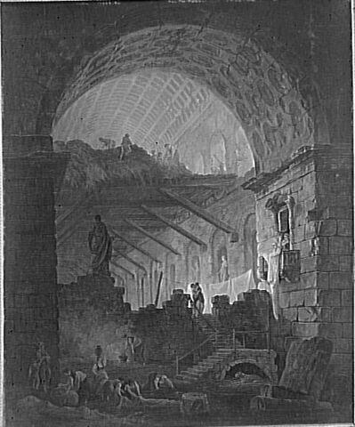 Ruines d'un palais