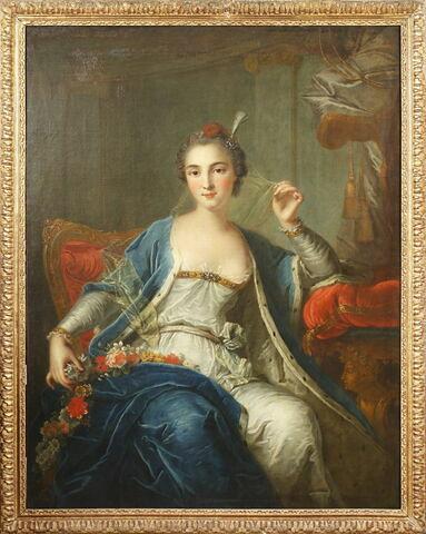 Portrait présumé de Melle Sallé, danseuse
