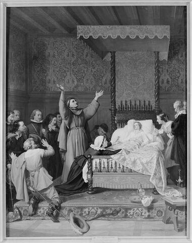 Saint Pierre d'Alcantara guérissant un enfant malade