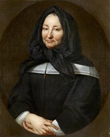 Portrait de Mme de Miramion, fondatrice de la communauté de la Sainte-Famille