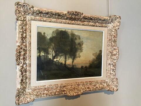 face, recto, avers, avant ; vue d'ensemble ; vue avec cadre © Musée du Louvre / Peintures
