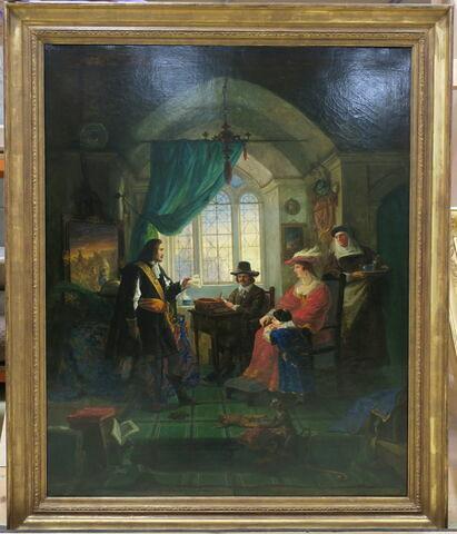 Rembrandt dans son atelier