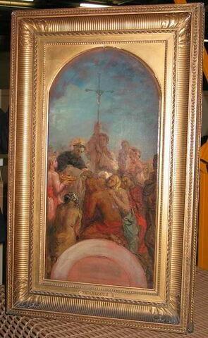 Saint François-Xavier baptisant les Indiens