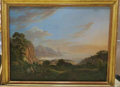 Vue de Marseille prise du vallon des Eygalades