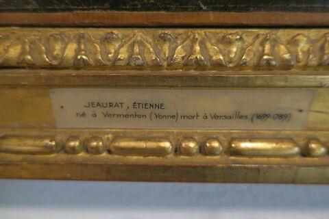 face, recto, avers, avant ; vue avec cadre ; détail cartel © 2018 Musée du Louvre / Peintures