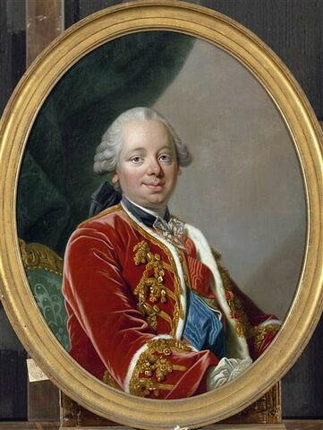 Portrait en buste d'Étienne-François, duc de Choiseul, marquis de Stainville