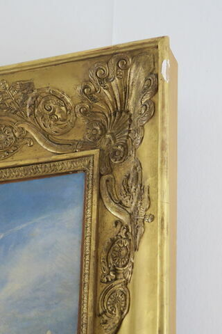 cadre ; détail ; partie droite ; partie supérieure ; face, recto, avers, avant © 2019 Musée du Louvre / Peintures