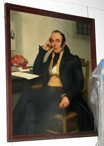 L'Avocat Berryer dans sa prison à Nantes