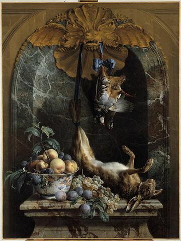 Nature morte au lièvre mort