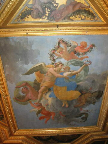 Flore et Zéphire. Plafond