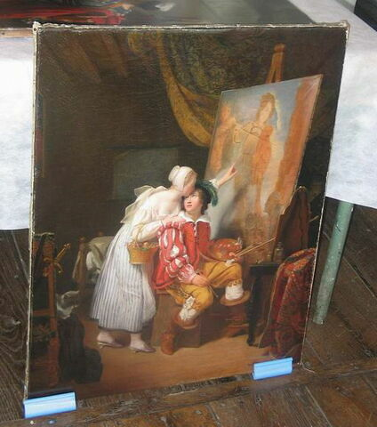 La Peinture. Van Dyck peignant son premier tableau