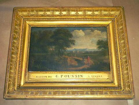 Paysage italien, dit jadis Maison de Guaspre Poussin à Tivoli