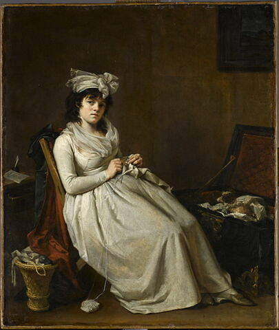 Portrait de Madame Gérard, épouse de Henri Gérard