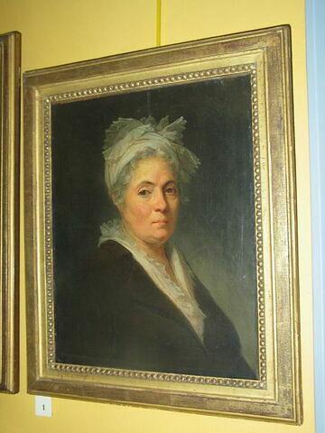 Portrait de Marie-Anne Gérard, épouse du peintre Jean-Honoré Fragonard et soeur de Marguerite Gérard