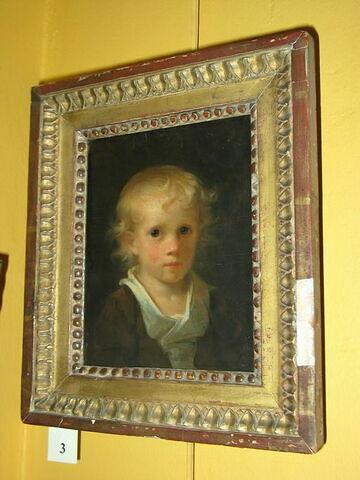 Tête d'enfant blond (Évariste Fragonard)