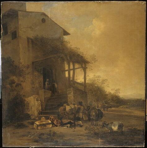 L'Auberge. Vue d'Italie