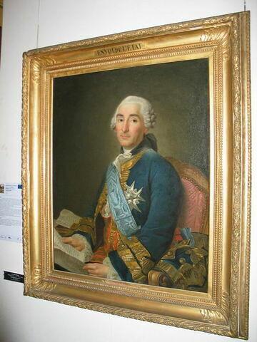 Portrait du duc de Choiseul-Praslin, ministre des affaires étrangères sous Louis XV