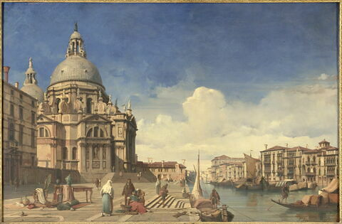 Vue de l'église Sainte-Marie à Venise