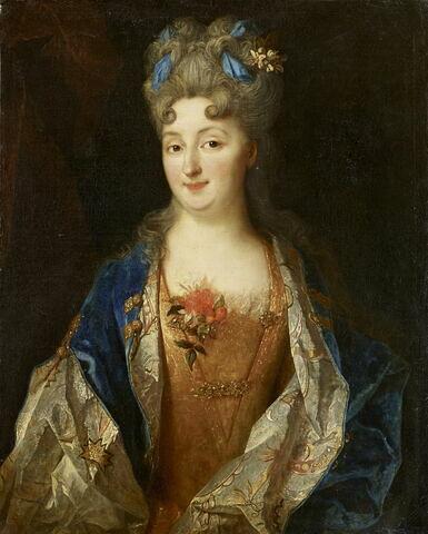 Portrait de femme dit à tort Portrait de Mme Deshoulières