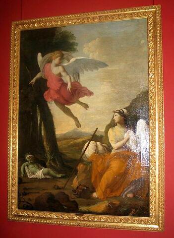 L'Ange du Seigneur apparaît dans le désert à Agar