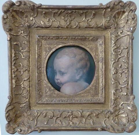 face, recto, avers, avant ; vue d'ensemble ; vue avec cadre © 2009 Musée du Louvre / Peintures