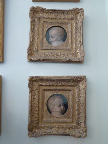 face, recto, avers, avant ; vue d'ensemble ; vue avec cadre ; vue de l'objet en situation © 2009 Musée du Louvre / Peintures