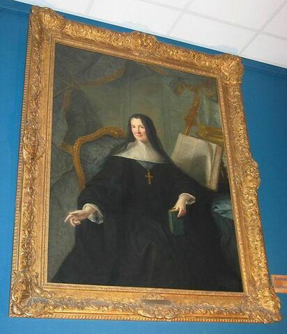 Portrait d'Anne de Clermont, abbesse de Chelles