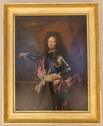 Portrait en buste de Philippe de France (duc de Chartres)
