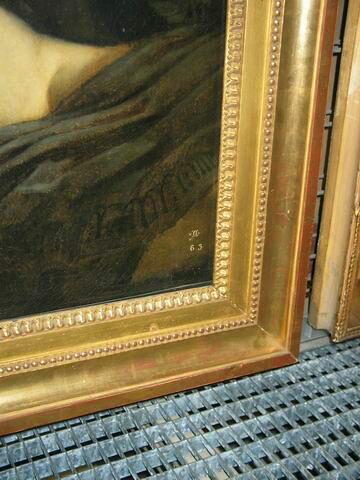 face, recto, avers, avant ; détail © 2007 Musée du Louvre / Peintures