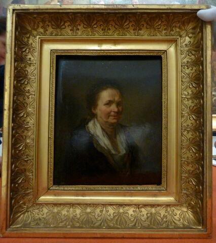 vue d'ensemble ; vue avec cadre ; face, recto, avers, avant © 2018 Musée du Louvre / Peintures