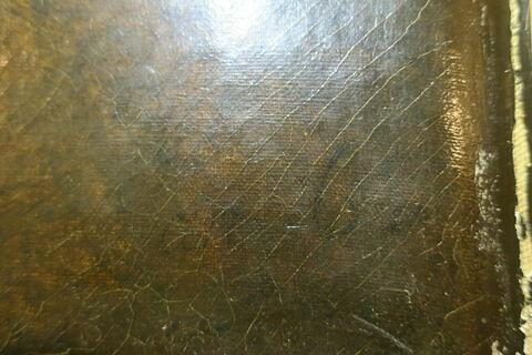 détail inscription ; face, recto, avers, avant © 2019 Musée du Louvre / Peintures