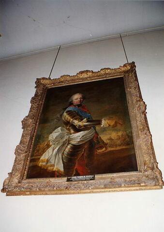 Portrait en armure d'Étienne-François, duc de Choiseul, marquis de Stainville