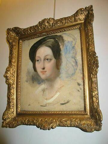 face, recto, avers, avant ; vue d'ensemble © 2008 Musée du Louvre / Peintures