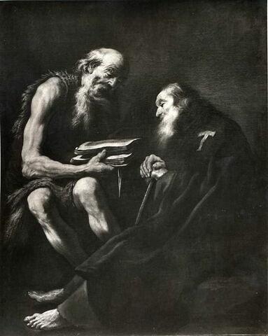 Saint Antoine et saint Paul ermites