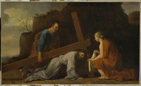 Jésus portant sa croix