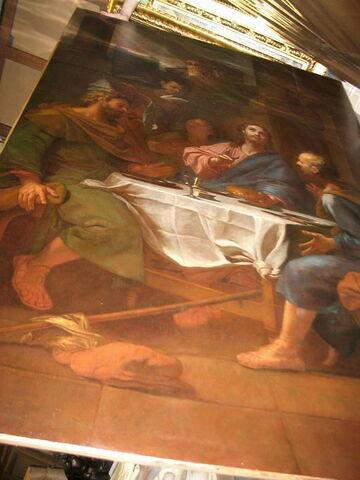 face, recto, avers, avant ; vue d'ensemble © 2005 Musée du Louvre / Peintures