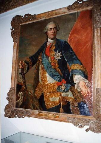 Portrait en buste de Louis XV