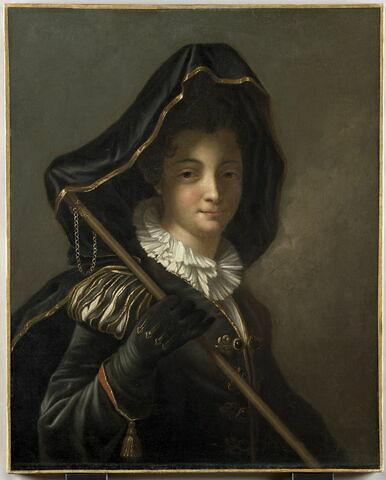 Femme en costume de fantaisie