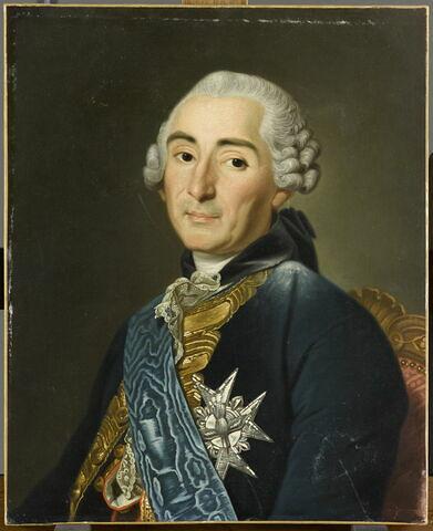 Portrait de César-Gabriel de Choiseul, duc de Praslin (1712- 1785),